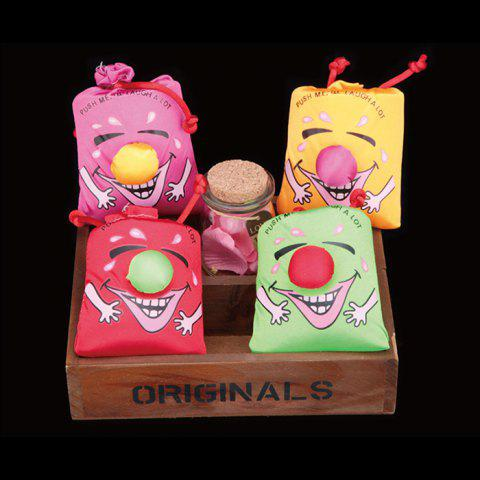Affordable 1PC Laughing Bag Funny Toy with Sound Silk Cover