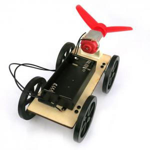 DIY Wind Car B2 Assemble Educational Toy -