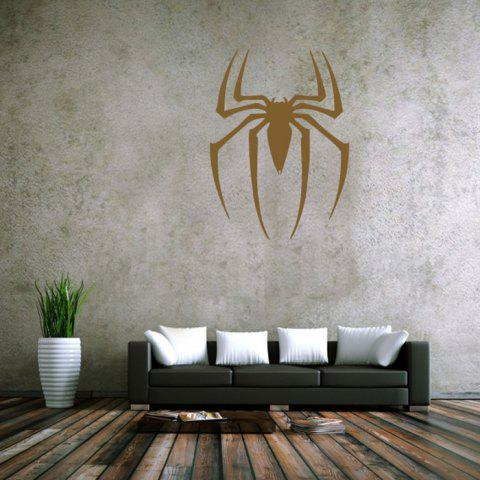 Cheap Spider Style Removable Wall Stickers Pure Color Room Window Decoration for Bedroom Store