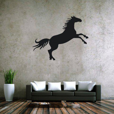 Affordable Horse Shape Solid Color Removable Wall Stickers Room Window Decoration for Bedroom Living Room