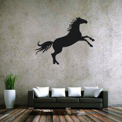 Horse Shape Solid Color Removable Wall Stickers Room Window Decoration for Bedroom Living Room -
