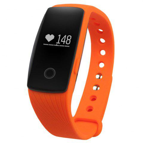 Fancy ID107 Smart Watch with Heart Rate Monitor Pedometer Remote Camera Function