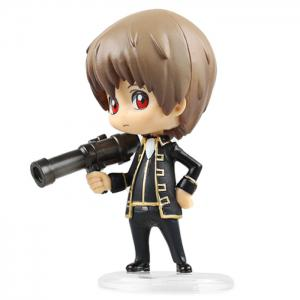 10cm Height Lovely GINTAMA Action Figure Fun Decoration Toy -