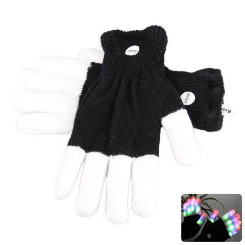 Hot Popular Cotton Gloves with LED Light Fun Party Favor Trick Game