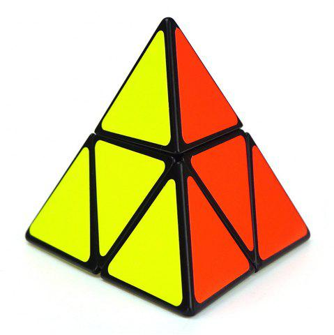 Affordable Shengshou Cube 9.8cm Side Pyraminx Mix-color Base Fun Educational Toy COLORMIX