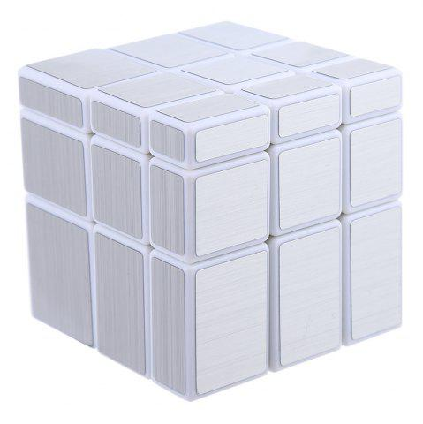 Store Shengshou Cube 7097A - 3 Mirror Magic Cube Fun Educational Toy - SILVER  Mobile