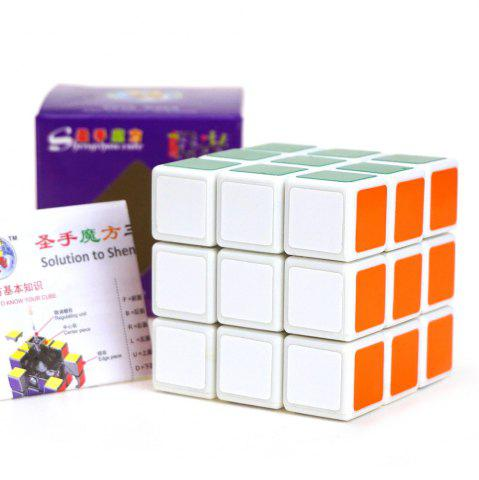 Outfits Shengshou Cube Aurora Magic Cube White Base Fun Educational Toy - COLORMIX  Mobile
