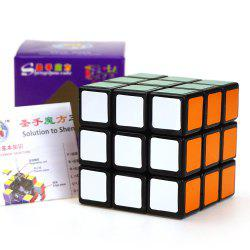 Shengshou Cube Aurora Magic Cube Black Base Fun Educational Toy - COLORMIX