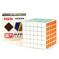 Shengshou Cube Glossy 6 x 6 x 6 V-Cube 6 White Base Fun Educational Toy