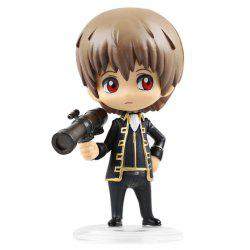 10cm Height Lovely GINTAMA Action Figure Fun Decoration Toy