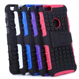2 in 1 Tread Pattern Phone Cover Protective Case for iPhone 6 Plus / 6s Plus -