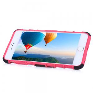 2 in 1 Tread Pattern Phone Cover Protective Case for iPhone 6 / 6s -