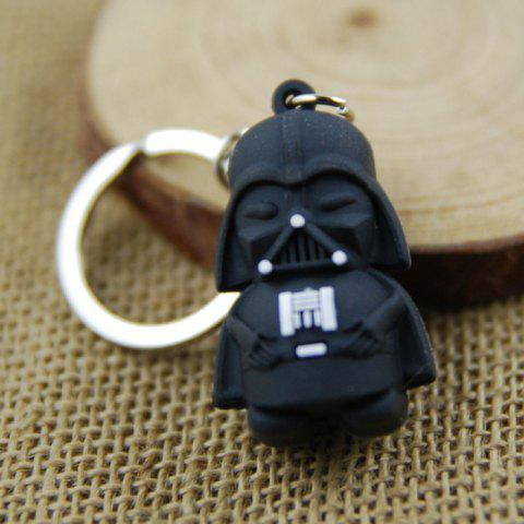 Black Soldier Mini Key Ring 4cm