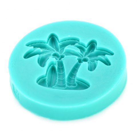 New Silicone Coconut Tree Shape Sweets Fondant Cake Chocolate Molds for Kitchen Baking