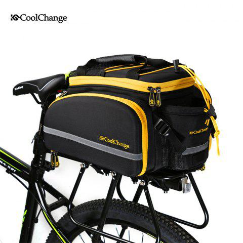 Fancy CoolChange Bicycle Rear Rack Bag EVA Hard Shell Made -   Mobile