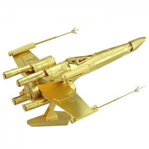 3D Military Model Metallic Building Puzzle Educational DIY Bend Fold Assemble Toy -