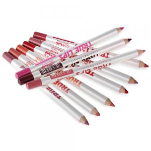 15cm 12Colors / Set Waterproof Lip Liner Pencil Women Professional Long Lasting Lipliner -