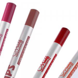 15cm 12Colors / Set Waterproof Lip Liner Pencil Women Professional Long Lasting Lipliner - COLORMIX