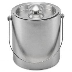 Stainless Steel Ice Bucket Champagne Wine Beer Container -