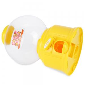 Cute Mini Candy Gumball Dispenser Vending Machine Saving Coin Bank Kids Toy - YELLOW