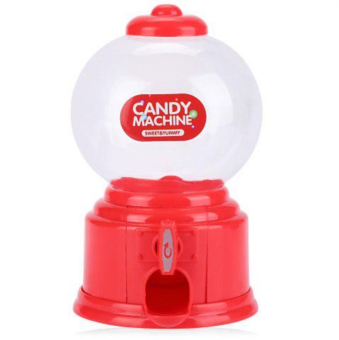 Trendy Cute Mini Candy Gumball Dispenser Vending Machine Saving Coin Bank Kids Toy