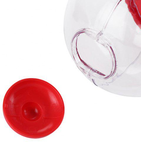 Best Cute Mini Candy Gumball Dispenser Vending Machine Saving Coin Bank Kids Toy - RED  Mobile