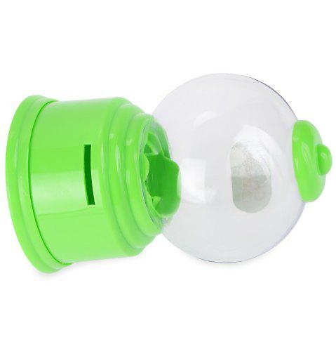 Latest Cute Mini Candy Gumball Dispenser Vending Machine Saving Coin Bank Kids Toy - GREEN  Mobile