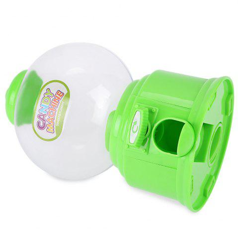 Online Cute Mini Candy Gumball Dispenser Vending Machine Saving Coin Bank Kids Toy - GREEN  Mobile