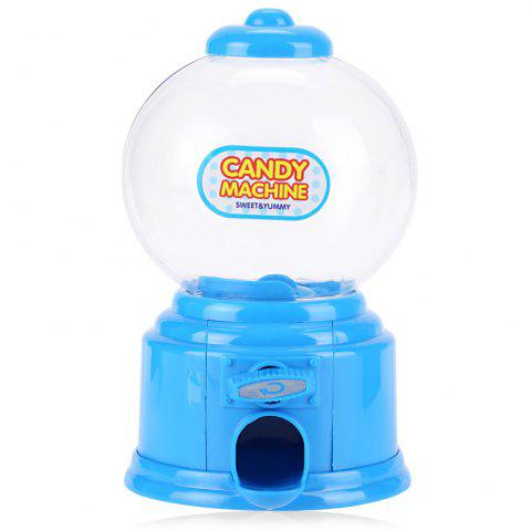 Online Cute Mini Candy Gumball Dispenser Vending Machine Saving Coin Bank Kids Toy - BLUE  Mobile