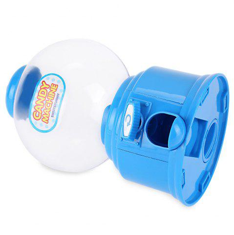 Affordable Cute Mini Candy Gumball Dispenser Vending Machine Saving Coin Bank Kids Toy - BLUE  Mobile
