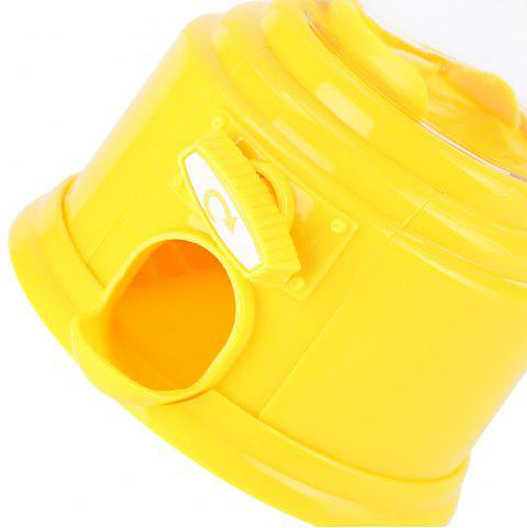 Online Cute Mini Candy Gumball Dispenser Vending Machine Saving Coin Bank Kids Toy - YELLOW  Mobile
