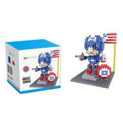 Super Hero Micro Diamond Building Block - 320Pcs Educational Kid Toy -
