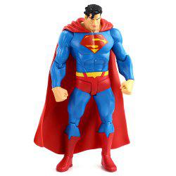 7 inch Excellent Anime Hero Style Plastic Action Figure Toy with Rotatable Joint Home Office Decor -