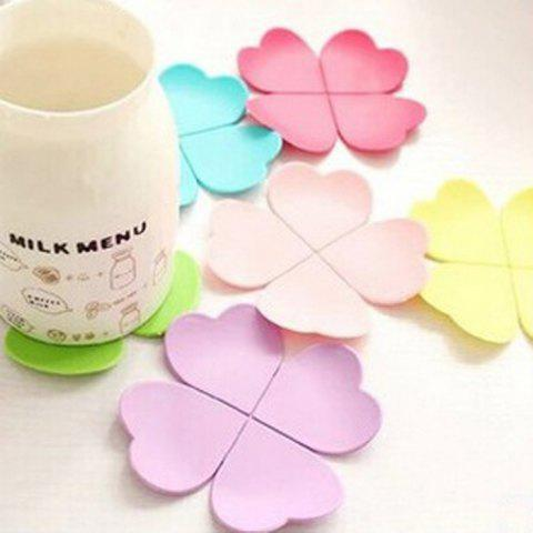 Outfit 5PCS Silicone Flower Shape Heat Insulation Mat Table Surface Protector Pad - COLORMIX  Mobile