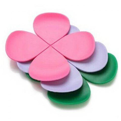 Online 5PCS Silicone Flower Shape Heat Insulation Mat Table Surface Protector Pad - COLORMIX  Mobile