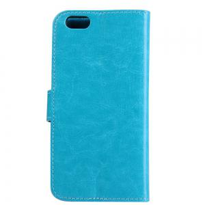 ASLING Crazy Horse Series PU Leather Full Body Protective Case for iPhone 6 / 6S with Credit Card Slot Phone Stand Holder -
