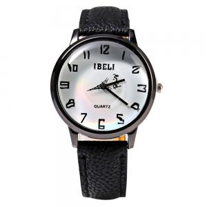 IBELI 807 Quartz Watch Eiffel Tower Second Dial Arabic Numerals for Women -