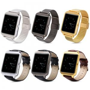 i95 Android 4.3 Bluetooth 4.0 Smart Watch with WIFI IP65 Heart Rate Monitor -