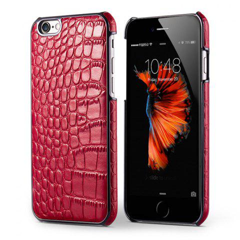 Sale Mecoco Leather Protective Back Case for iPhone 6 / 6S Alligator Pattern Mobile Protector