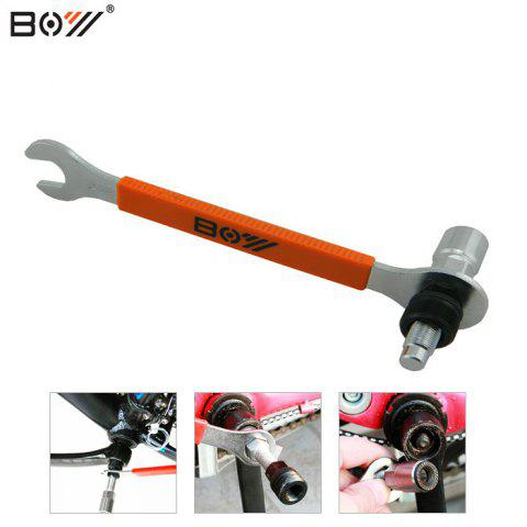 Chic BOY 7025HA 2-in-1 Bicycle Bottom Bracket Tool Carbon Steel Made -   Mobile
