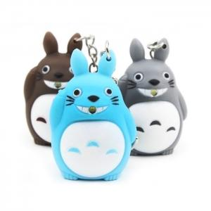 1pc Key Chain Hanging Pendant ABS Movie Product Voice Light Control Bag Decoration -