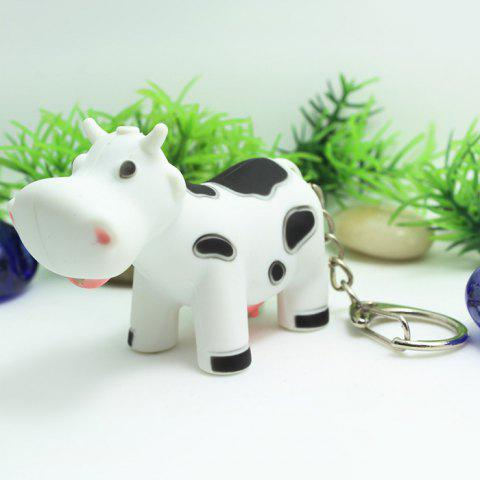Ox Style Key Chain with LED Light   Sound Pendant