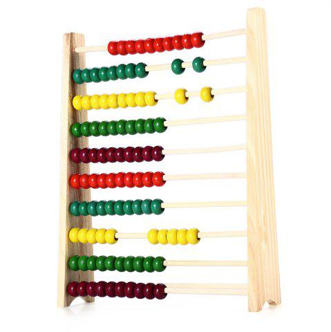 Fashion Wooden Beads Abacus Counting Intelligence Toy for Kid