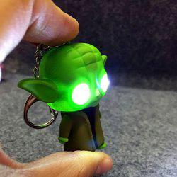 ABS Master Key Chain Hanging Pendant Movie Product Voice LED Light Control Bag Decoration -