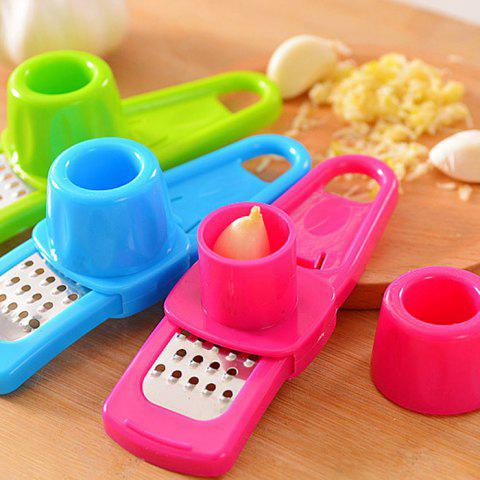 Latest Creative Manual Type Mashed Garlic Twist Ginger Box Practical Kitchen Gadgets - COLORMIX  Mobile