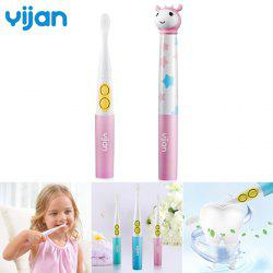 Yijan T2S Electric Toothbrush IPX-7 Level Waterproof Music Soft Brush for Kids -