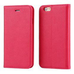 Practical PU Leather Full Body Protective Case for iPhone 6 Plus / 6S Plus with Card Slot Phone Stand Holder