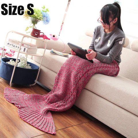 Chic Crocheted / Knited Mermaid Tail Style Blanket