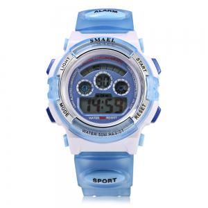 SMAEL 0704 Sports Digital Children Watch 50M Water Resistant -