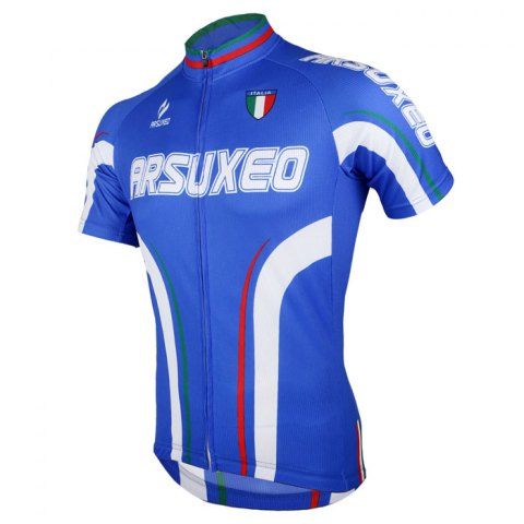 Store Arsuxeo ZSS54 Cycling Short Sleeve Suit for Men -   Mobile